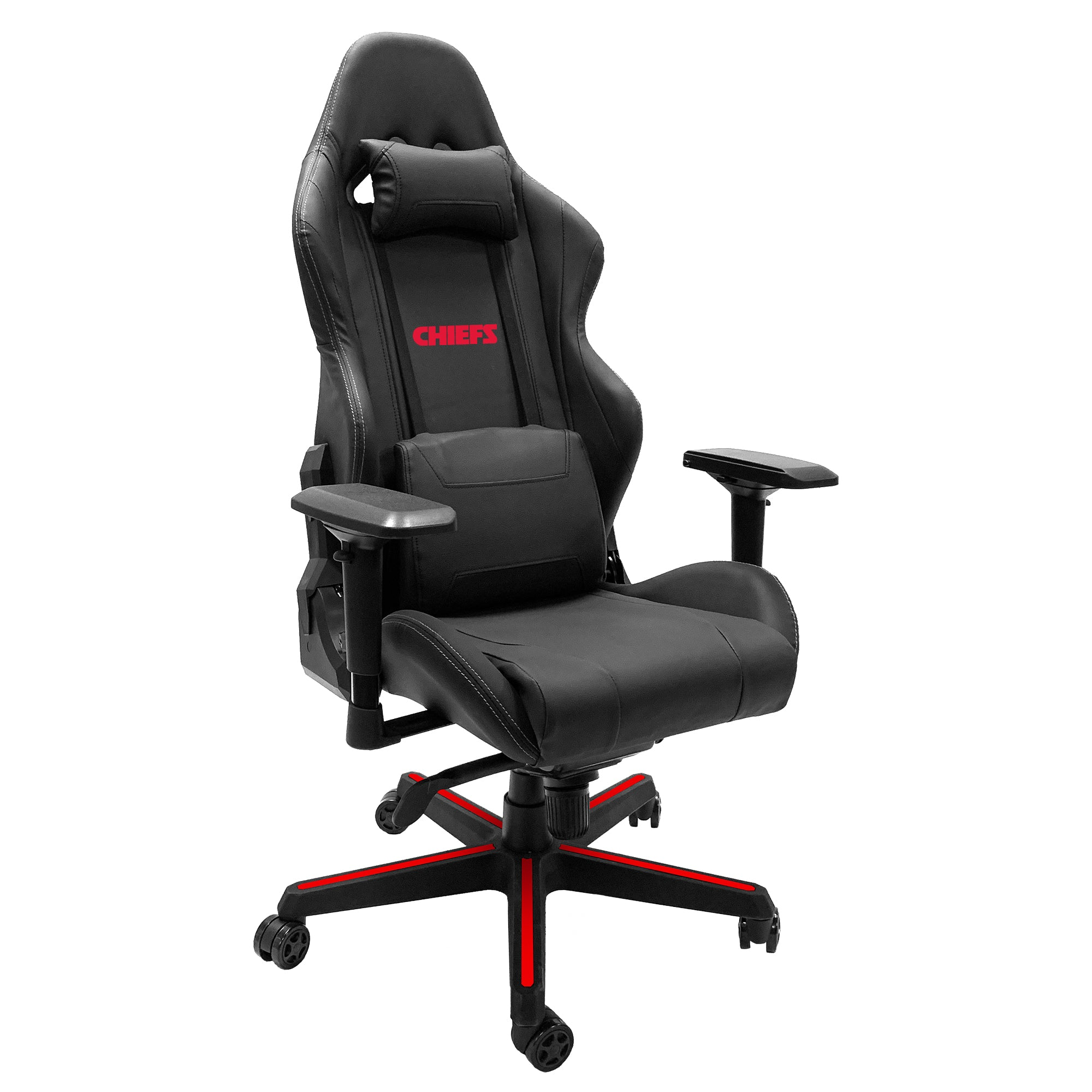 Xpression Gaming Chair with  Kansas City Chiefs Secondary Logo