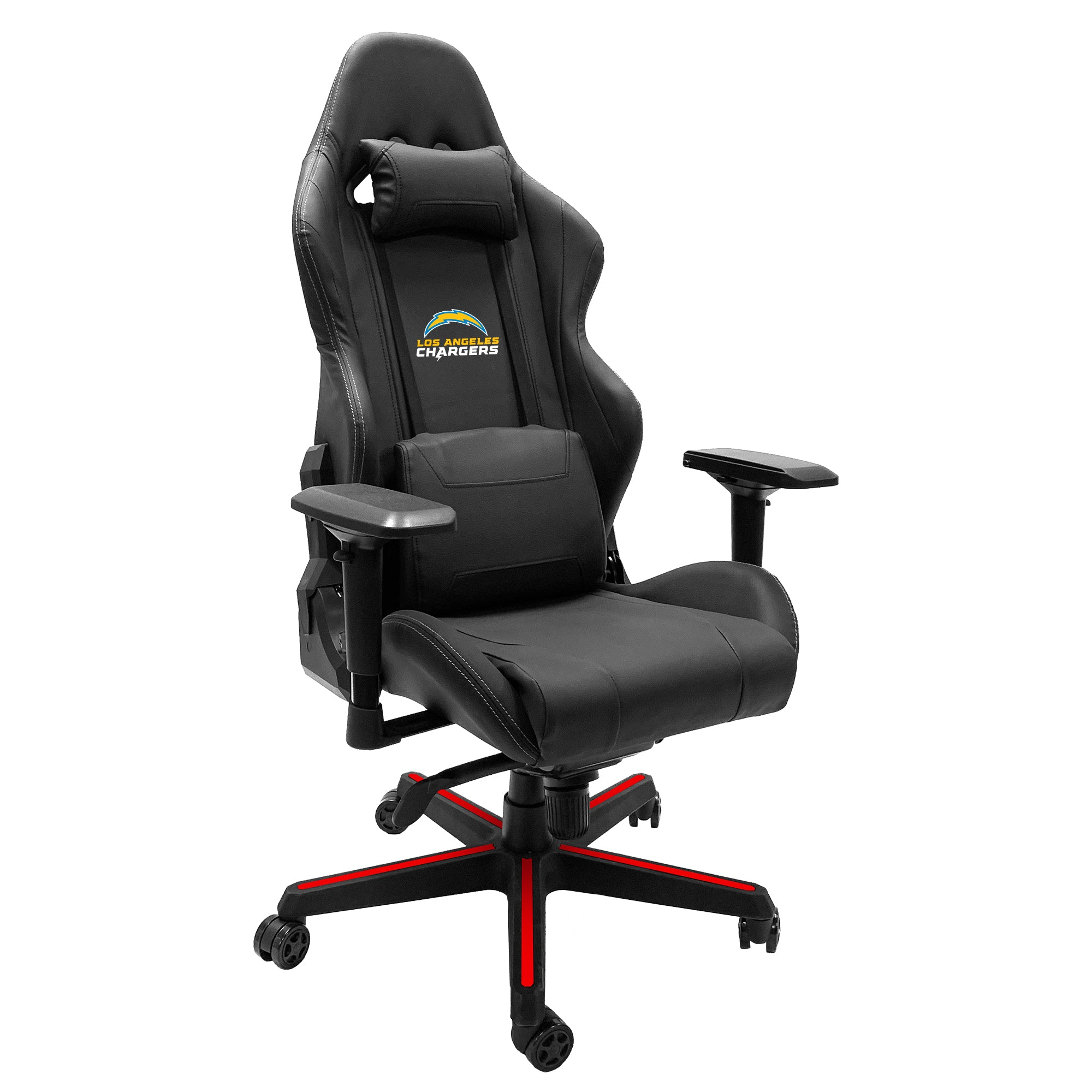 Xpression Gaming Chair with  Los Angeles Chargers Secondary Logo