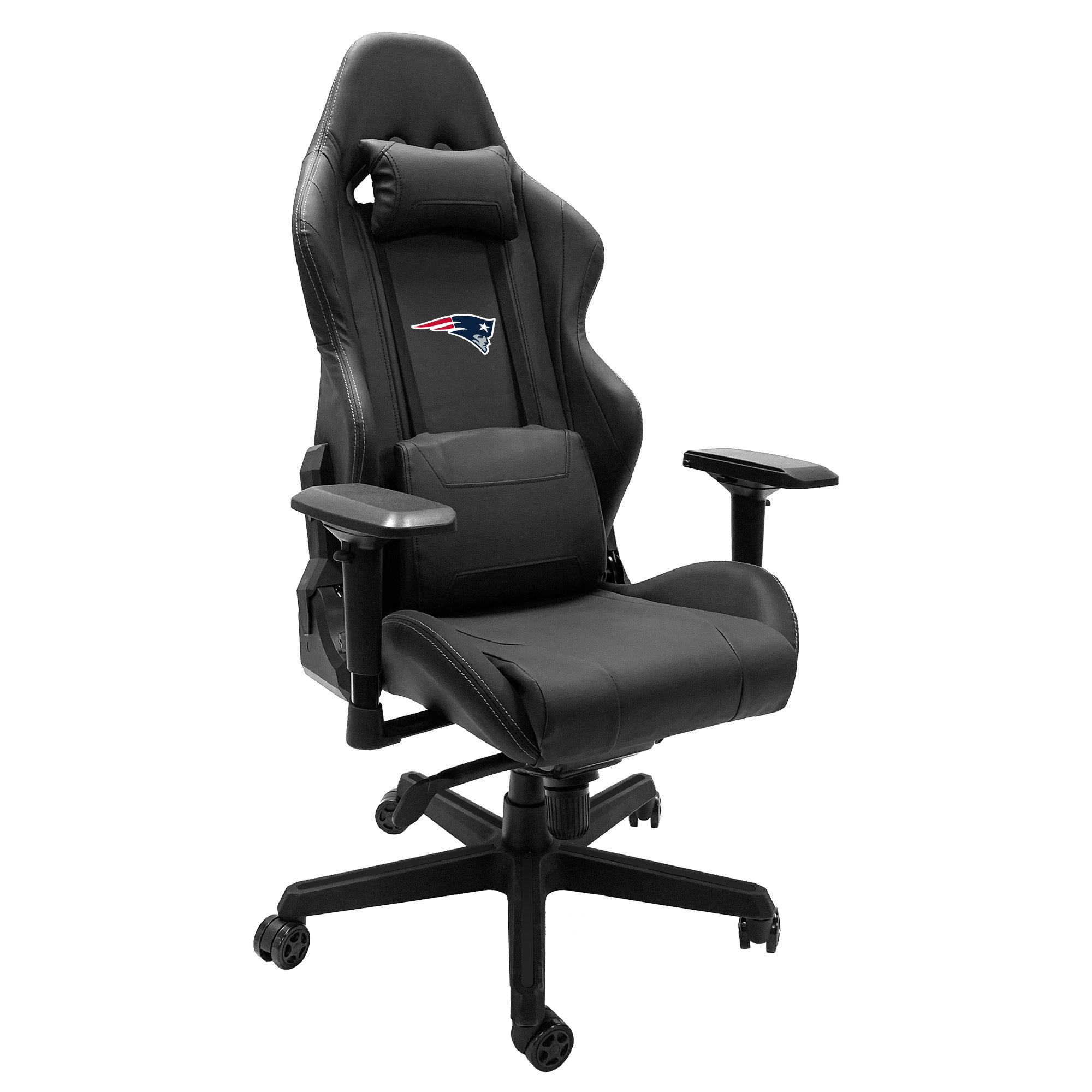 Xpression Gaming Chair with  New England Patriots Primary Logo