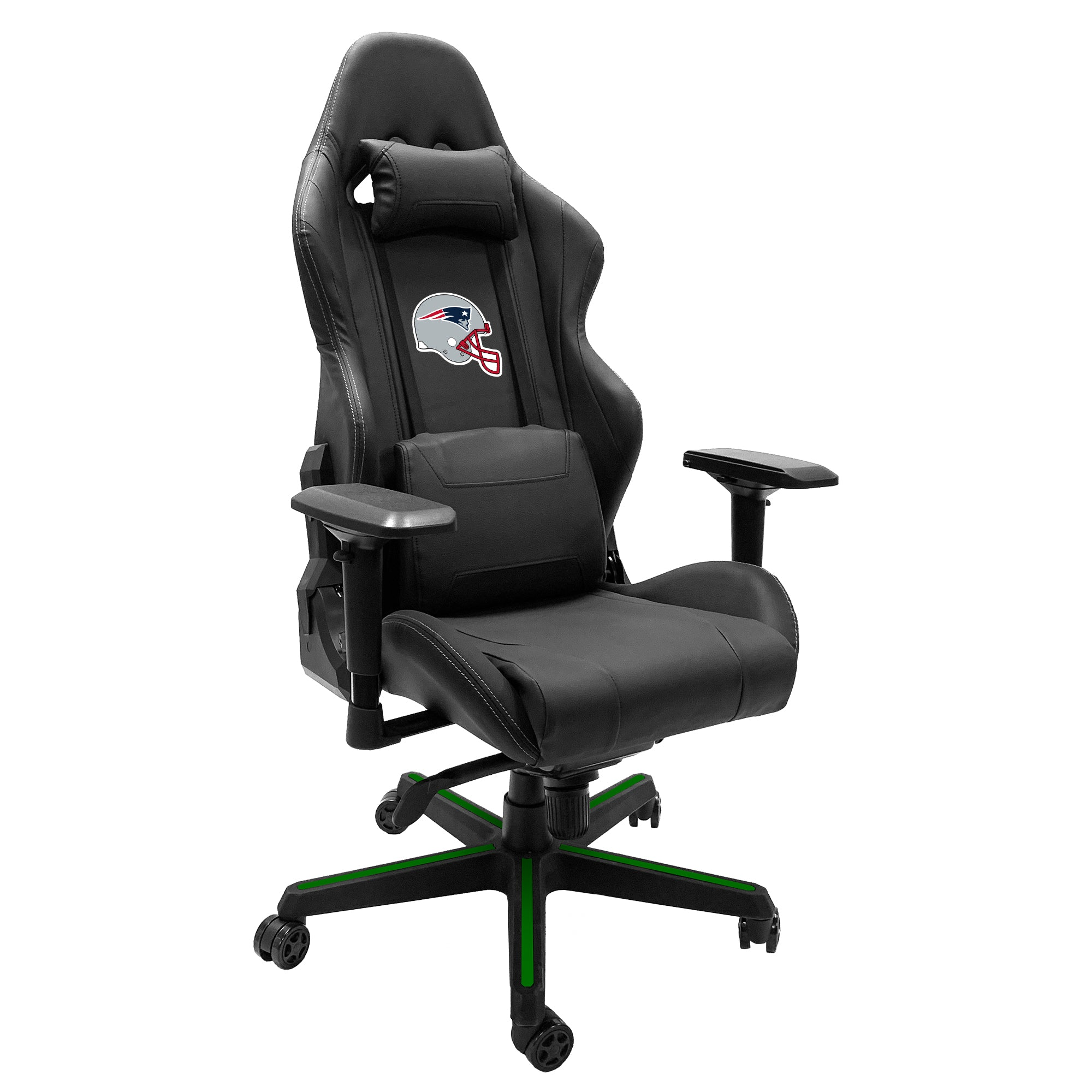 Xpression Gaming Chair with  New England Patriots Helmet Logo
