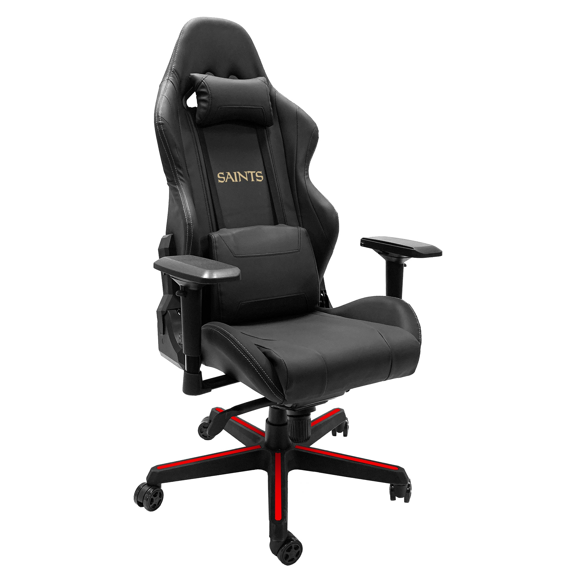 Xpression Gaming Chair with  New Orleans Saints Secondary Logo