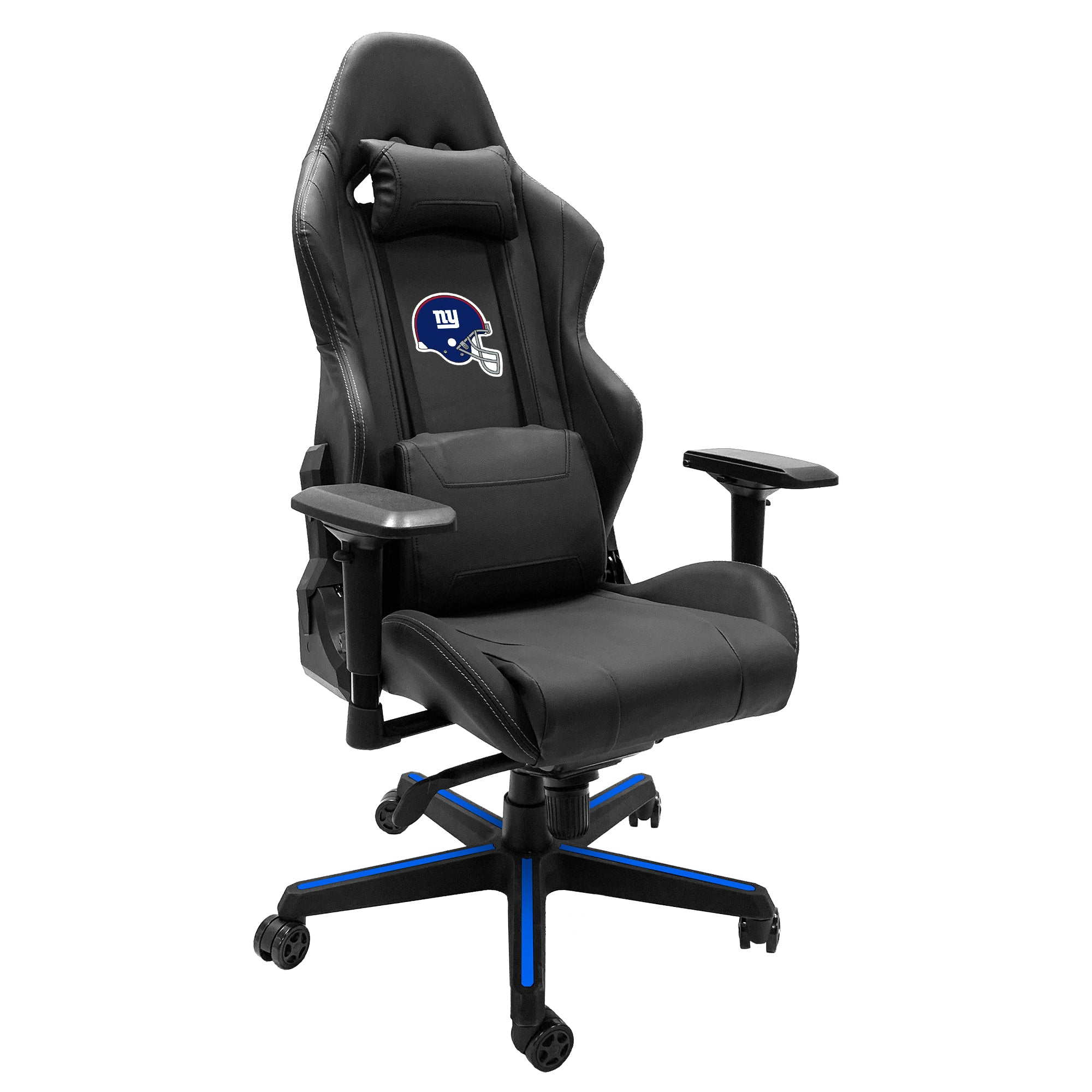 Xpression Gaming Chair with  New York Giants Helmet Logo