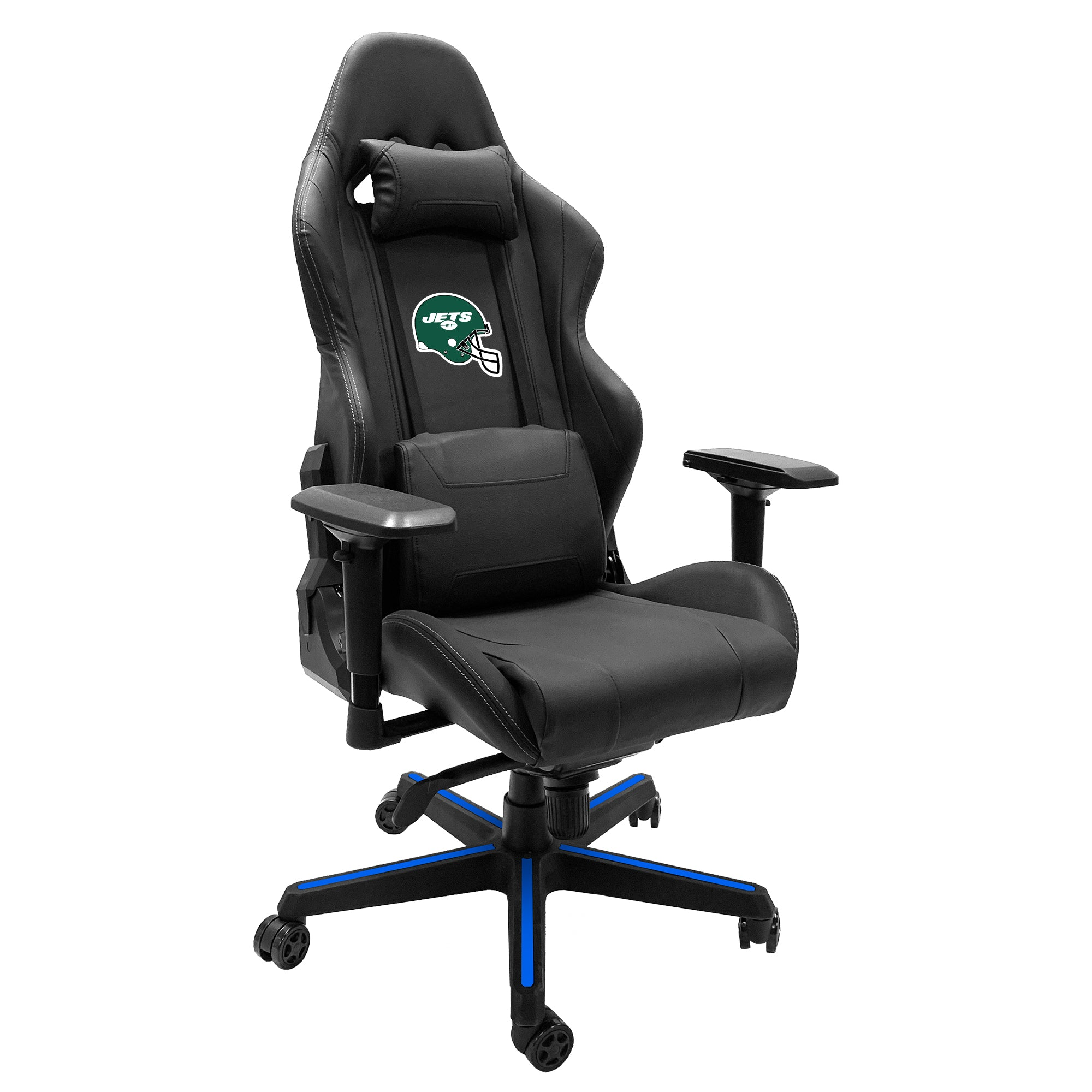 Xpression Gaming Chair with  New York Jets Helmet Logo