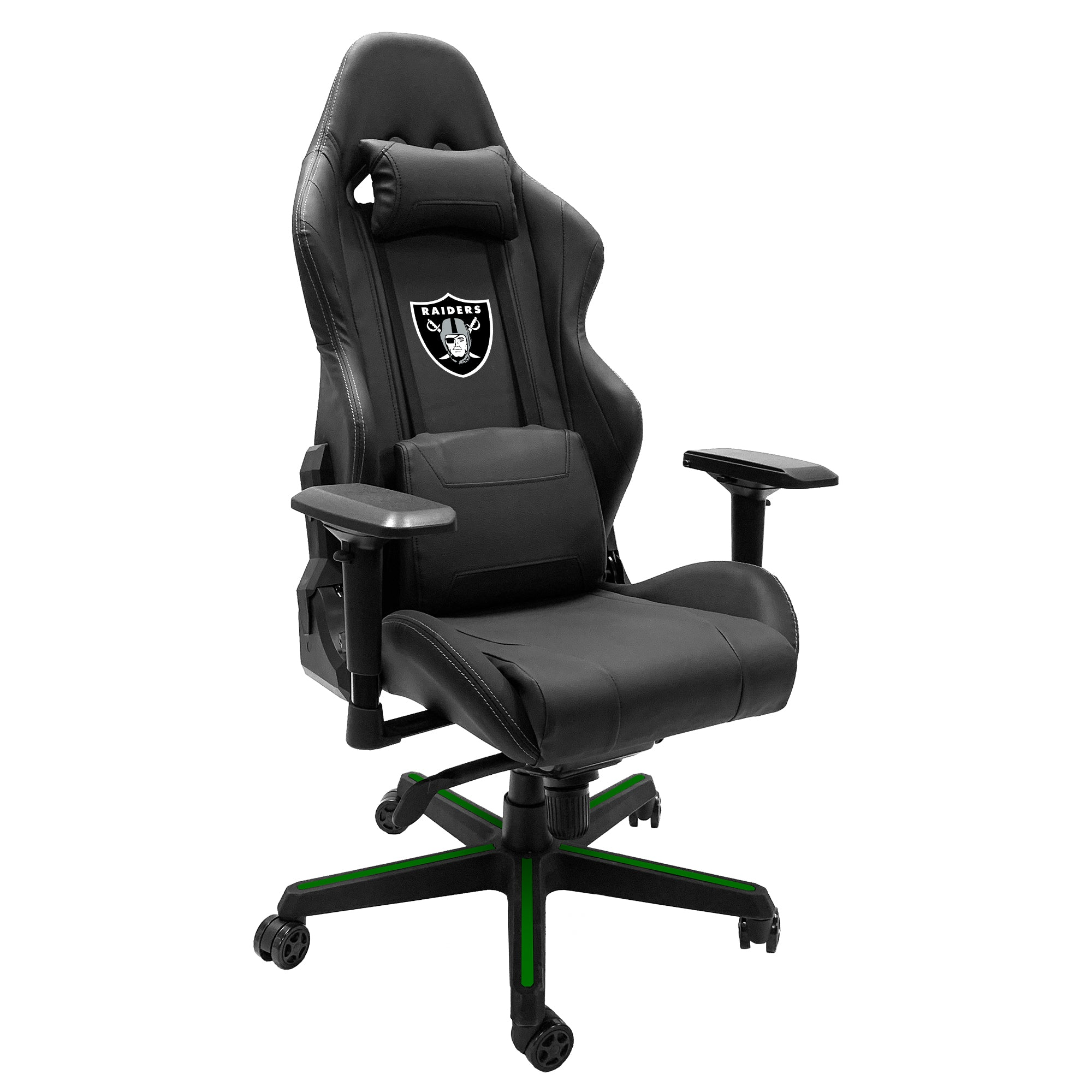 Xpression Gaming Chair with  Las Vegas Raiders Primary Logo