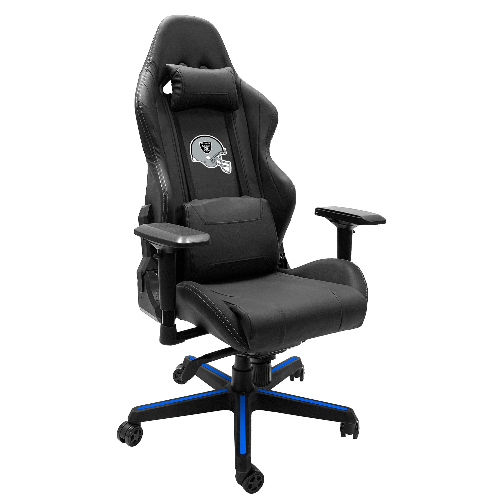 Xpression Gaming Chair with  Las Vegas Raiders Helmet Logo