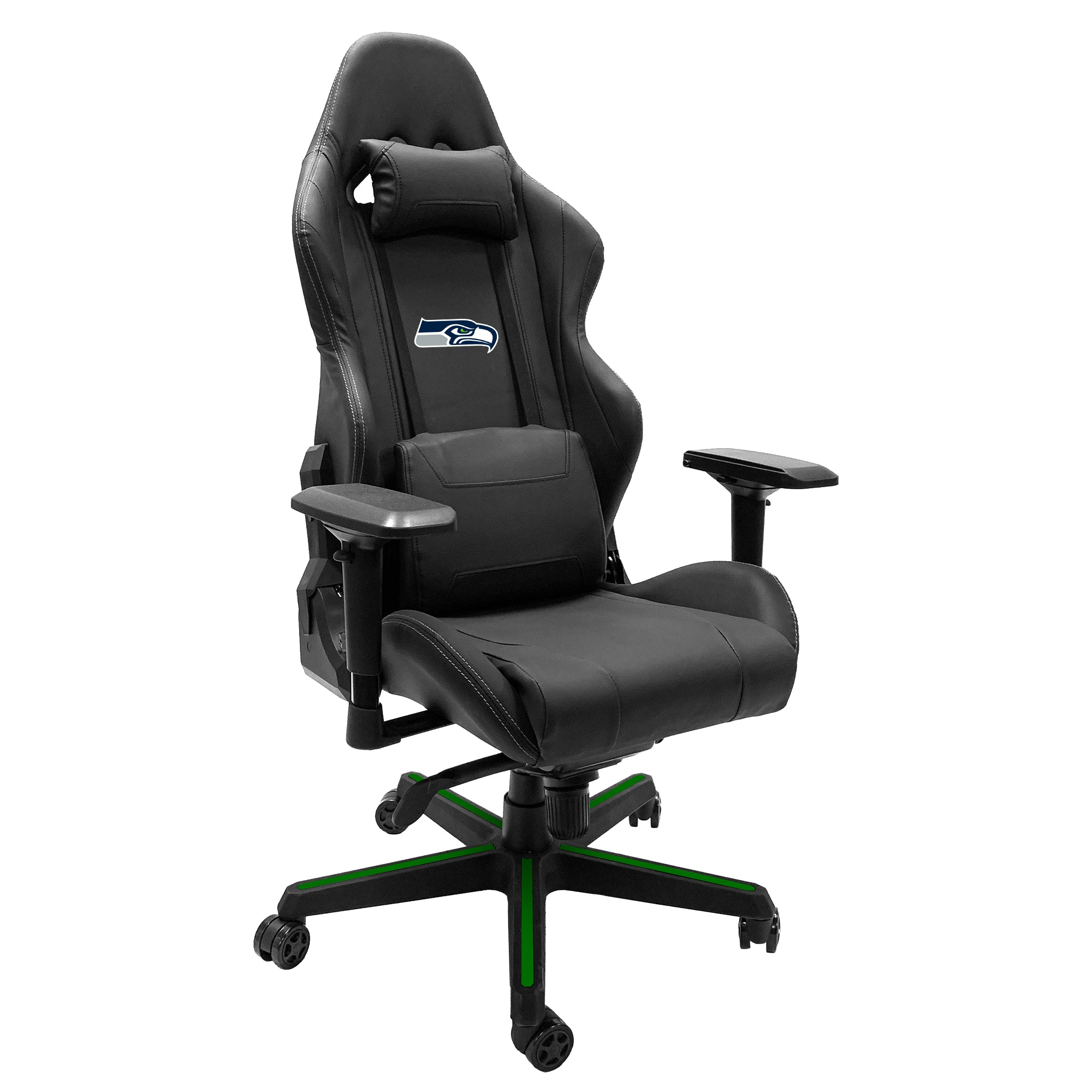 Xpression Gaming Chair with  Seattle Seahawks Primary Logo