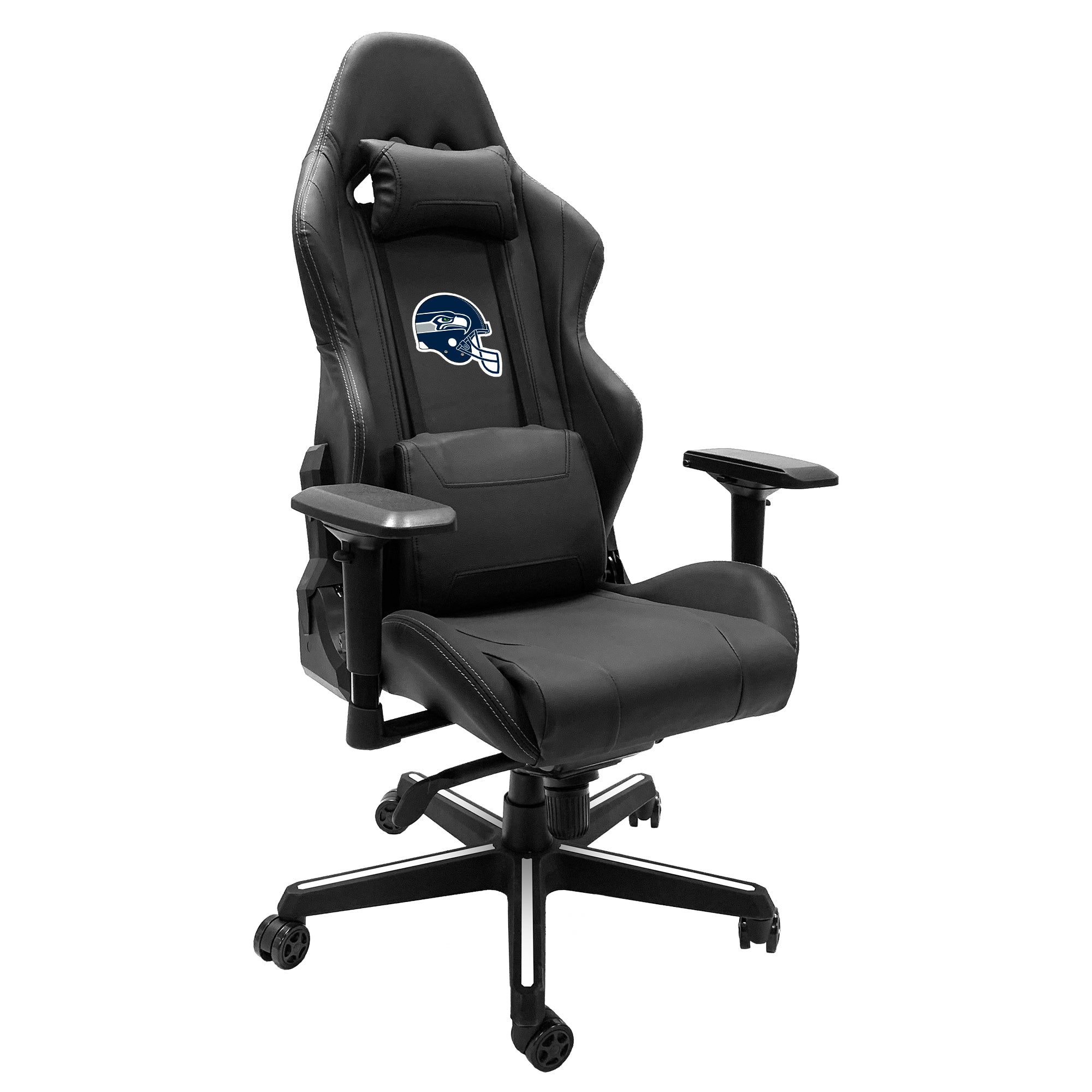 Xpression Gaming Chair with  Seattle Seahawks Helmet Logo