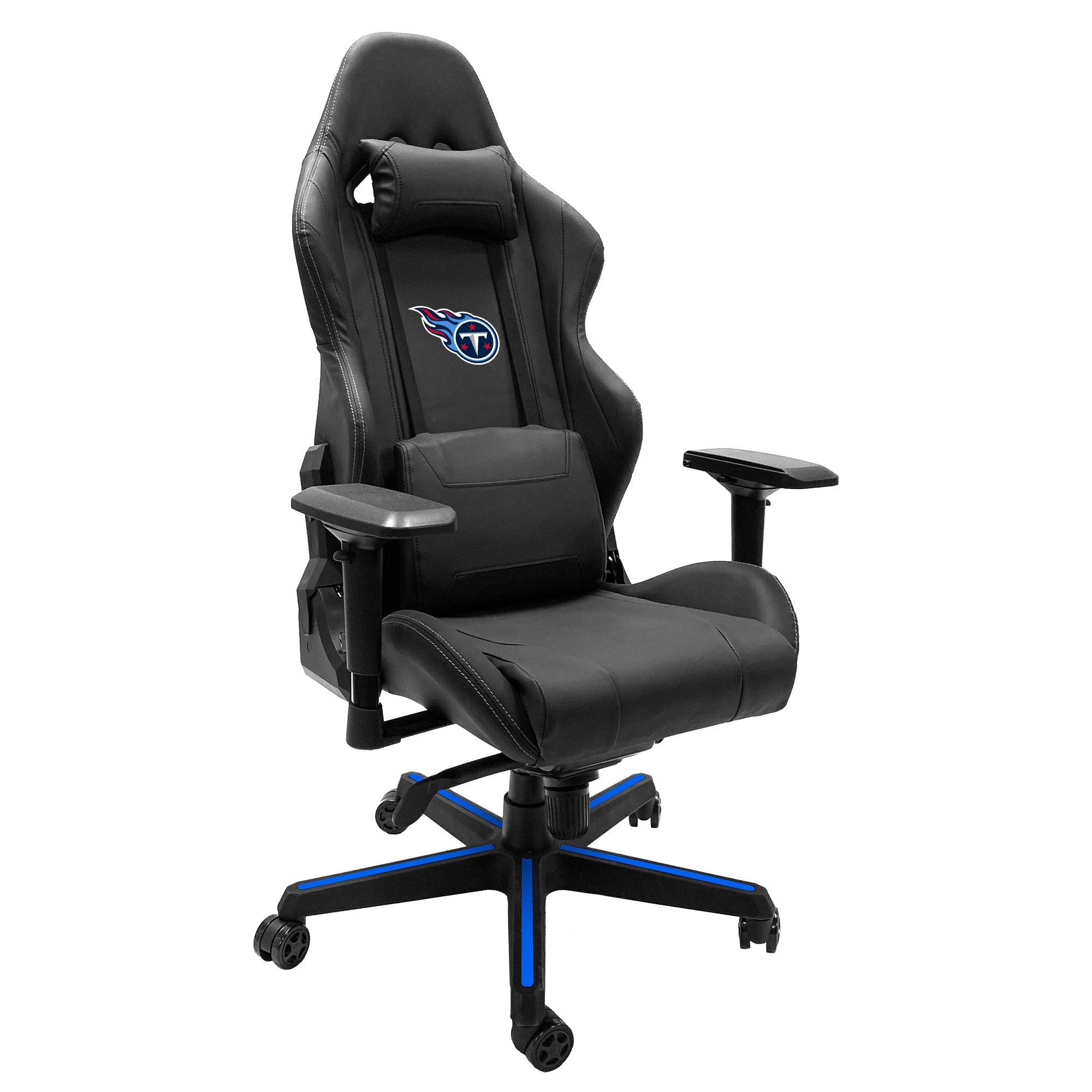 Xpression Gaming Chair with  Tennessee Titans Primary Logo