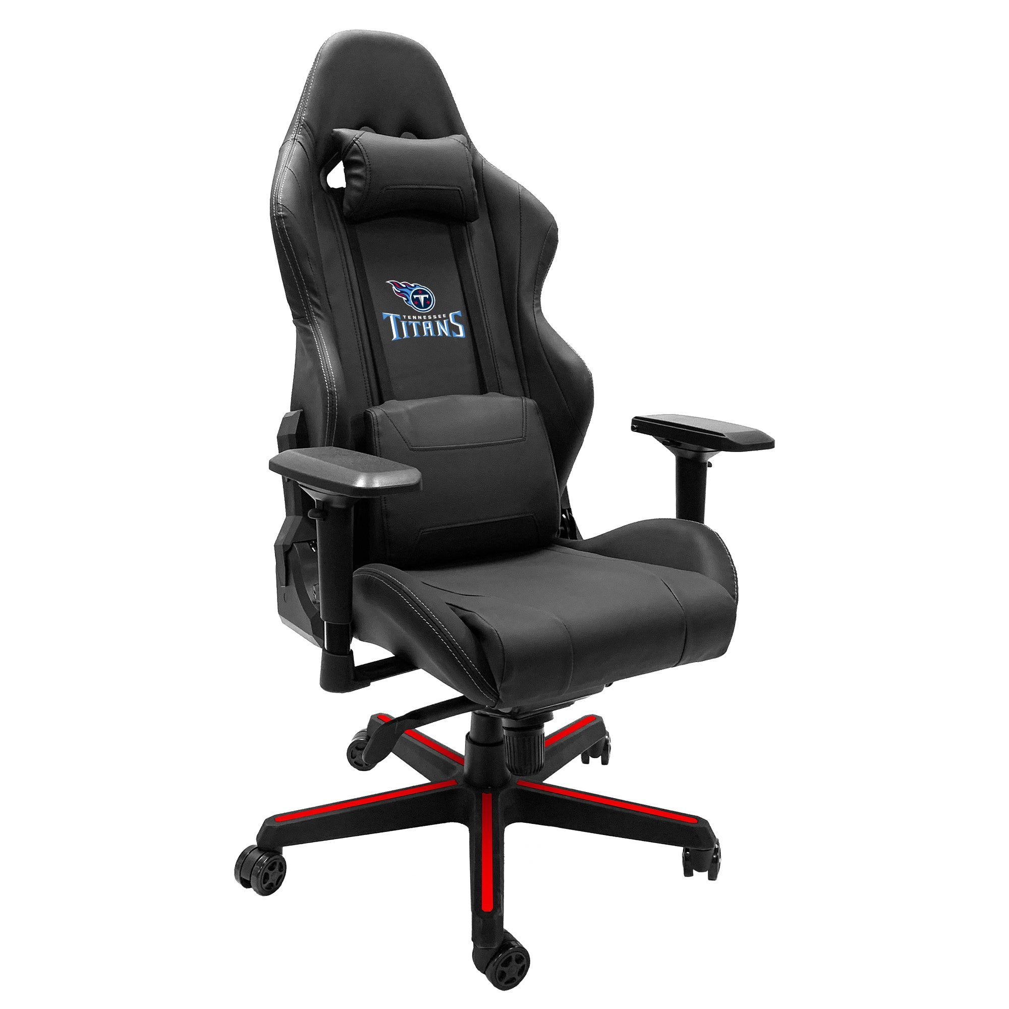 Xpression Gaming Chair with  Tennessee Titans Secondary Logo