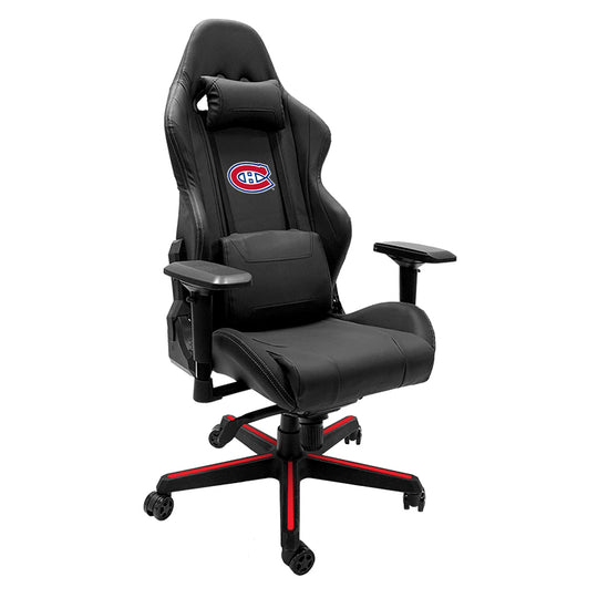 Xpression Gaming Chair with Montreal Canadiens Logo