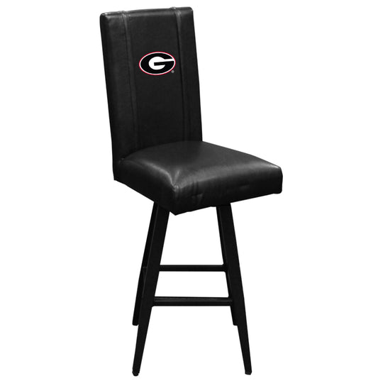 Swivel Bar Stool 2000 with Georgia Bulldogs Logo