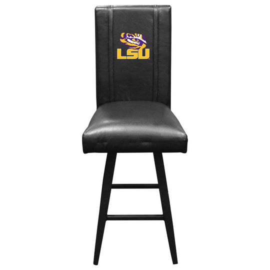 Swivel Bar Stool 2000 with LSU Tigers Logo