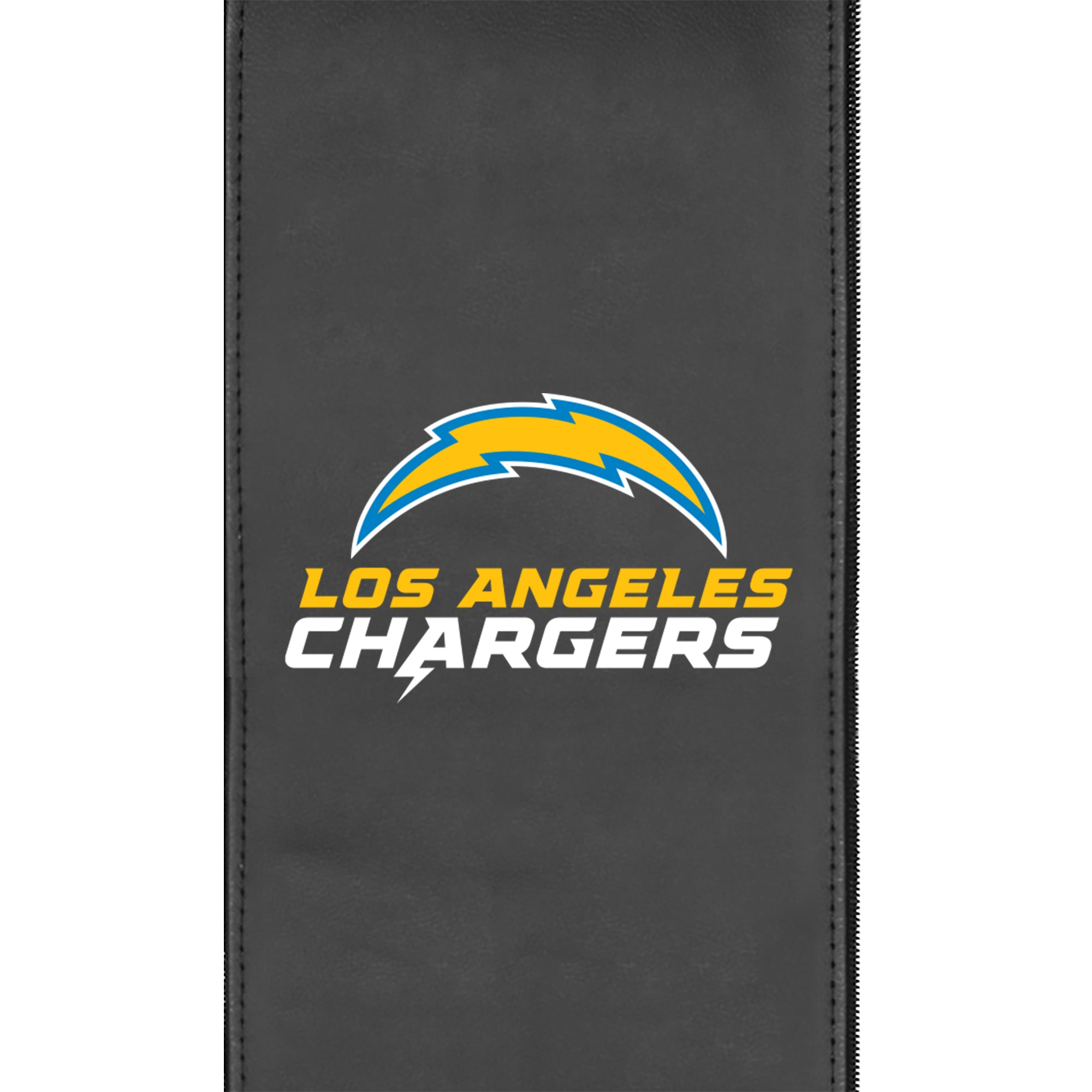 Silver Sofa with  Los Angeles Chargers Secondary Logo