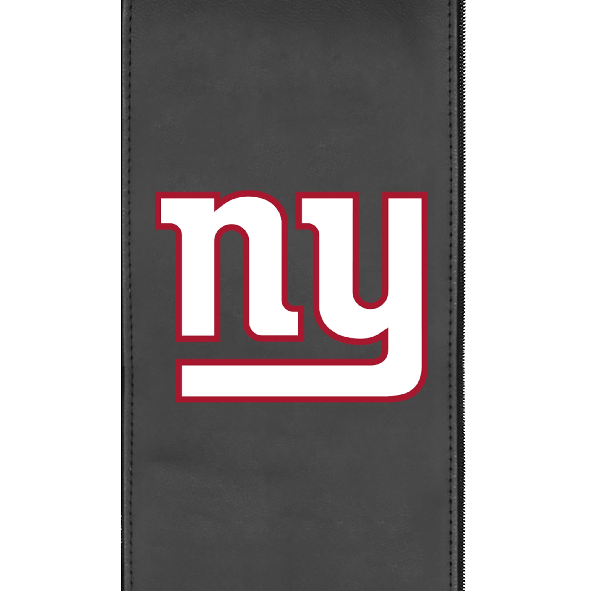 Silver Sofa with  New York Giants Primary Logo