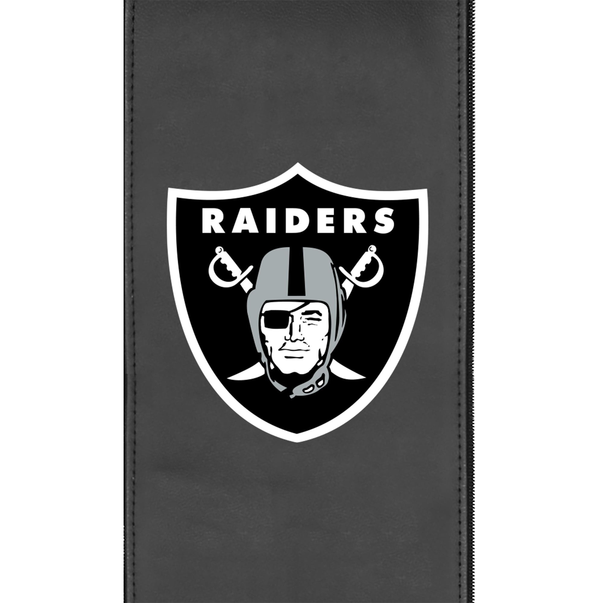 Stealth Recliner with  Las Vegas Raiders Primary Logo