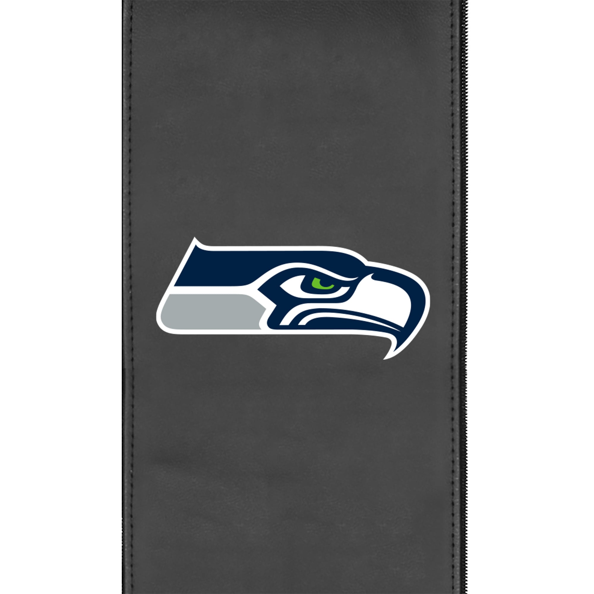 Silver Sofa with  Seattle Seahawks Primary Logo
