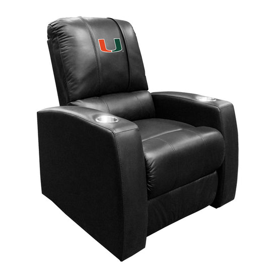 Relax Recliner with Miami Hurricanes Logo