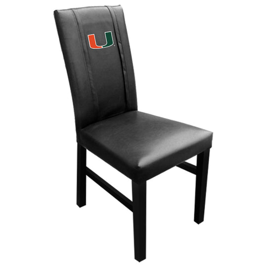 Side Chair 2000 with Miami Hurricanes Logo