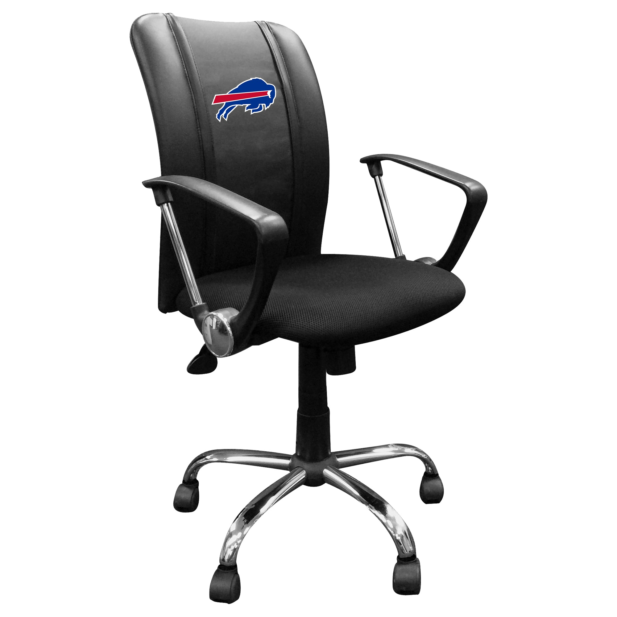 Curve Task Chair with  Buffalo Bills Primary Logo