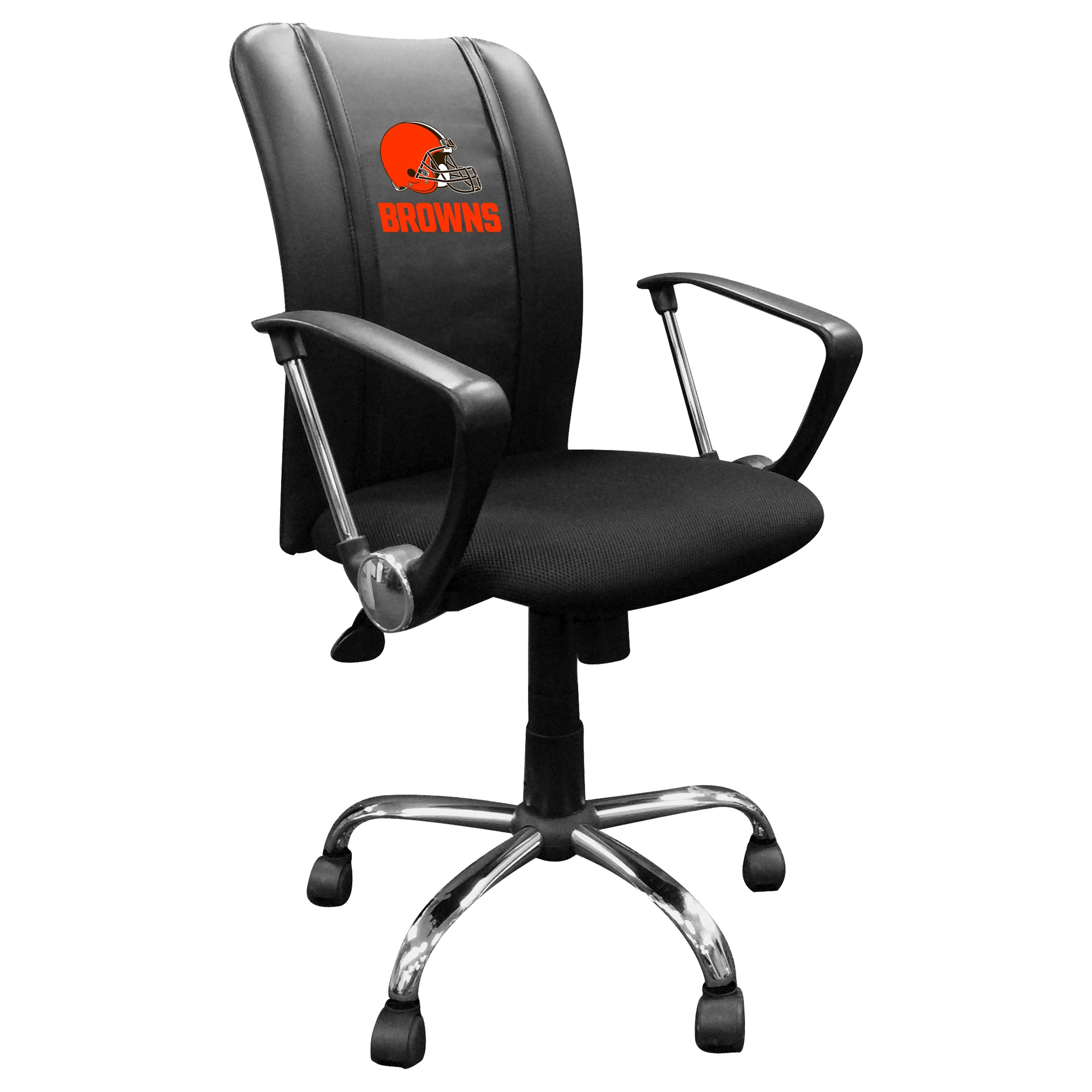 Curve Task Chair with  Cleveland Browns Secondary Logo