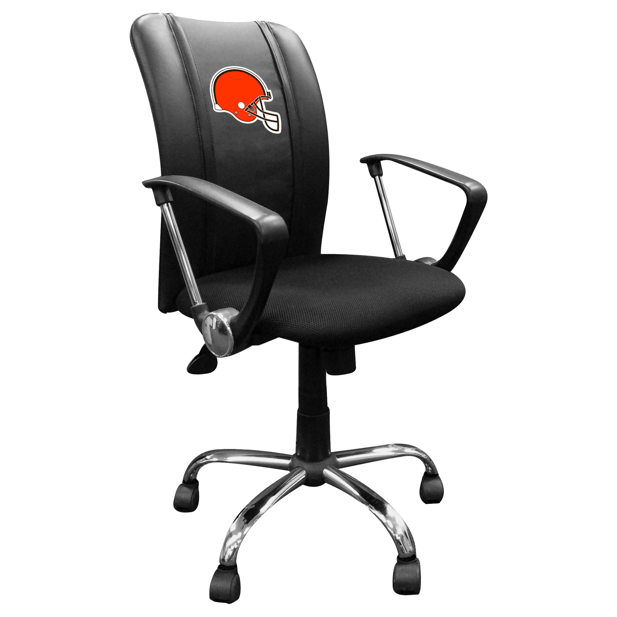 Curve Task Chair with  Cleveland Browns Helmet Logo