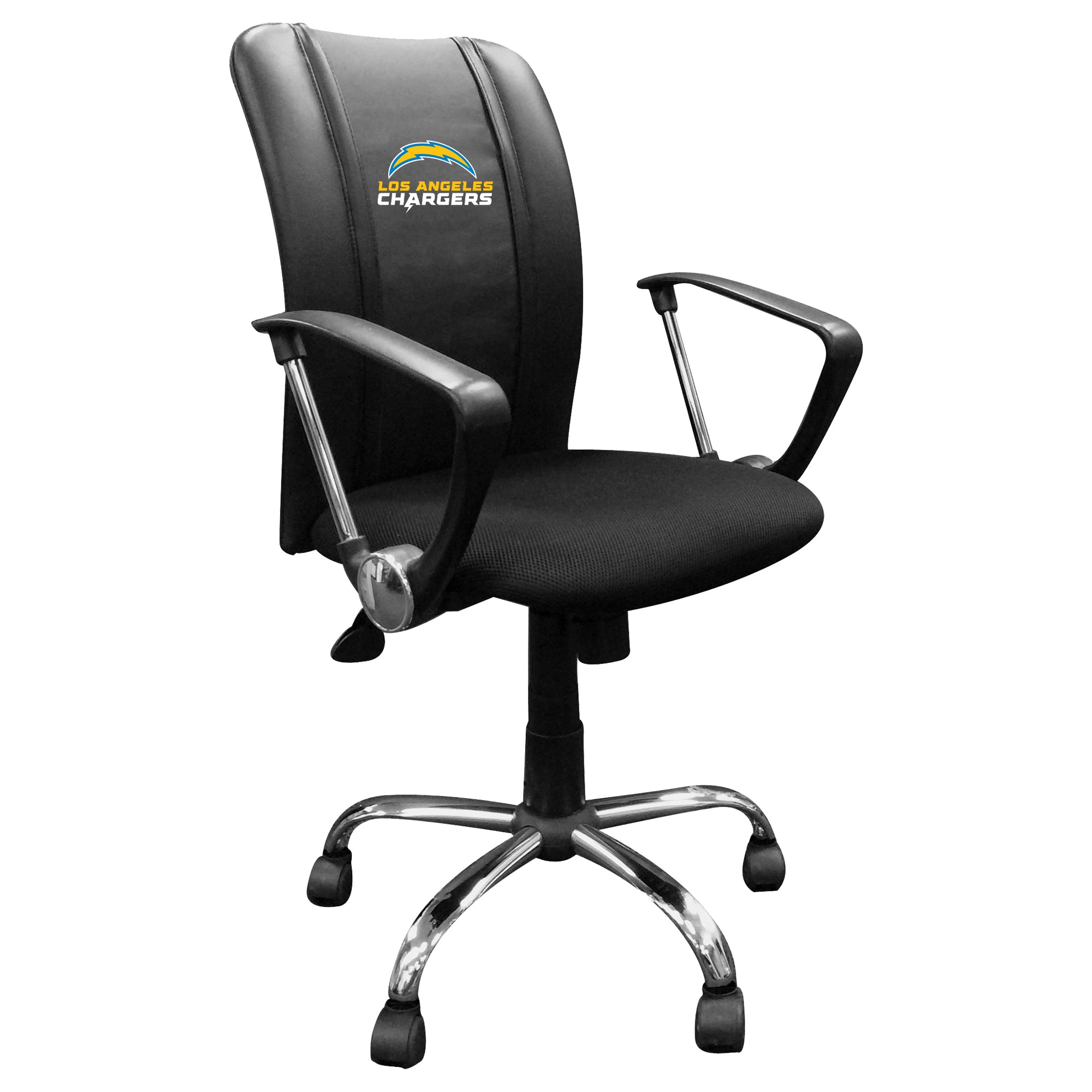 Curve Task Chair with  Los Angeles Chargers Secondary Logo