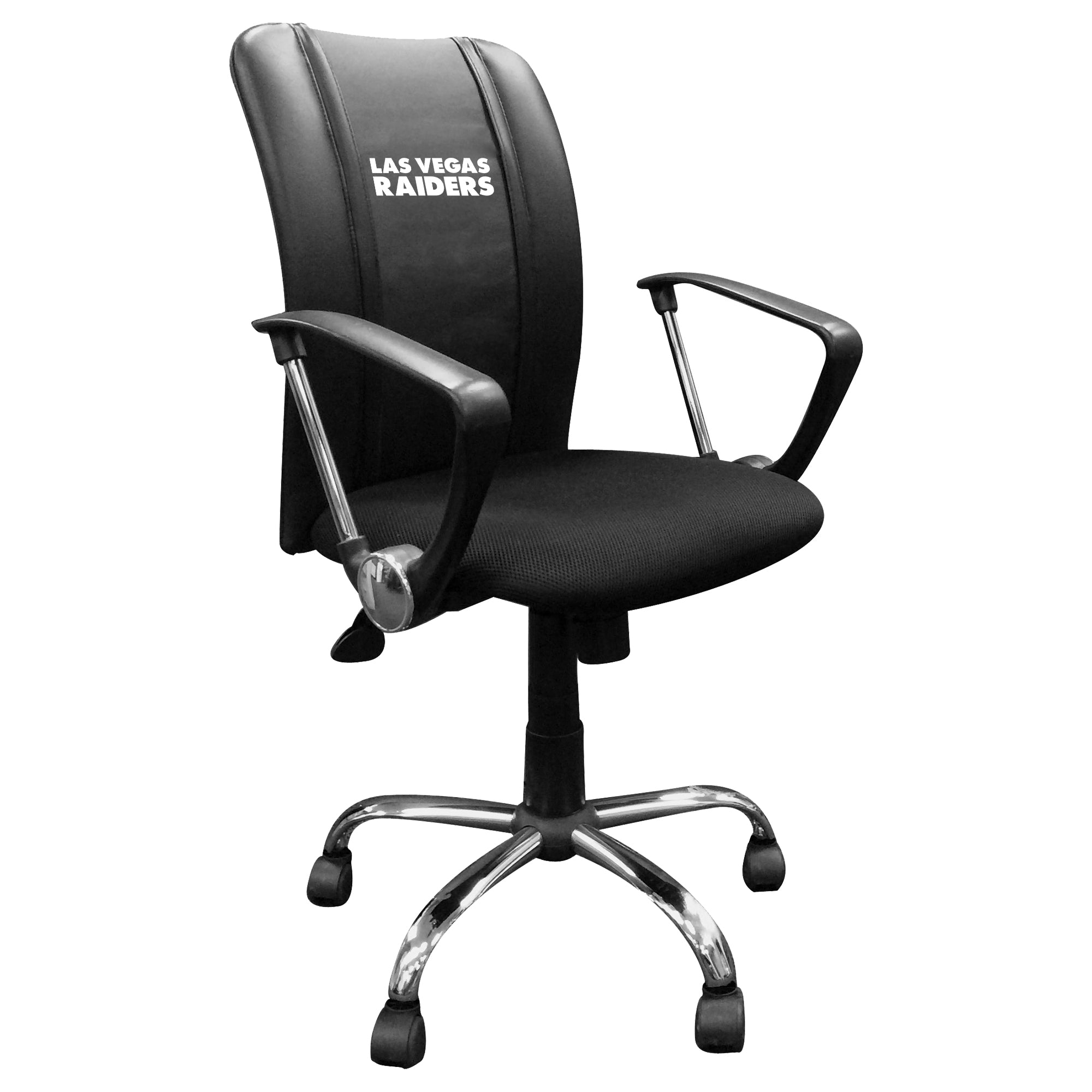 Curve Task Chair with  Las Vegas Raiders Secondary Logo