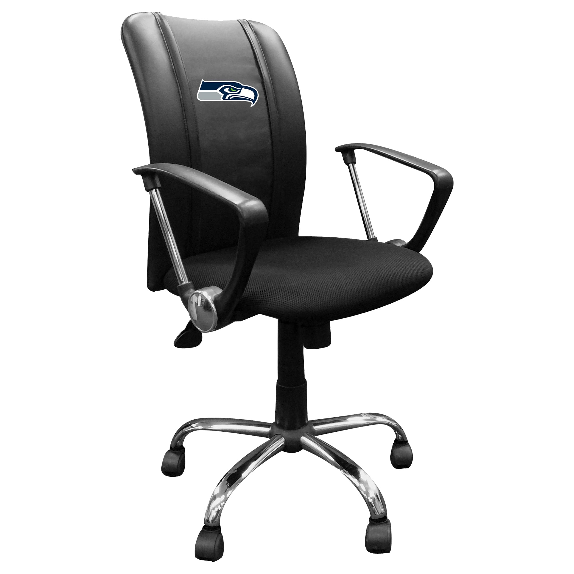Curve Task Chair with  Seattle Seahawks Primary Logo