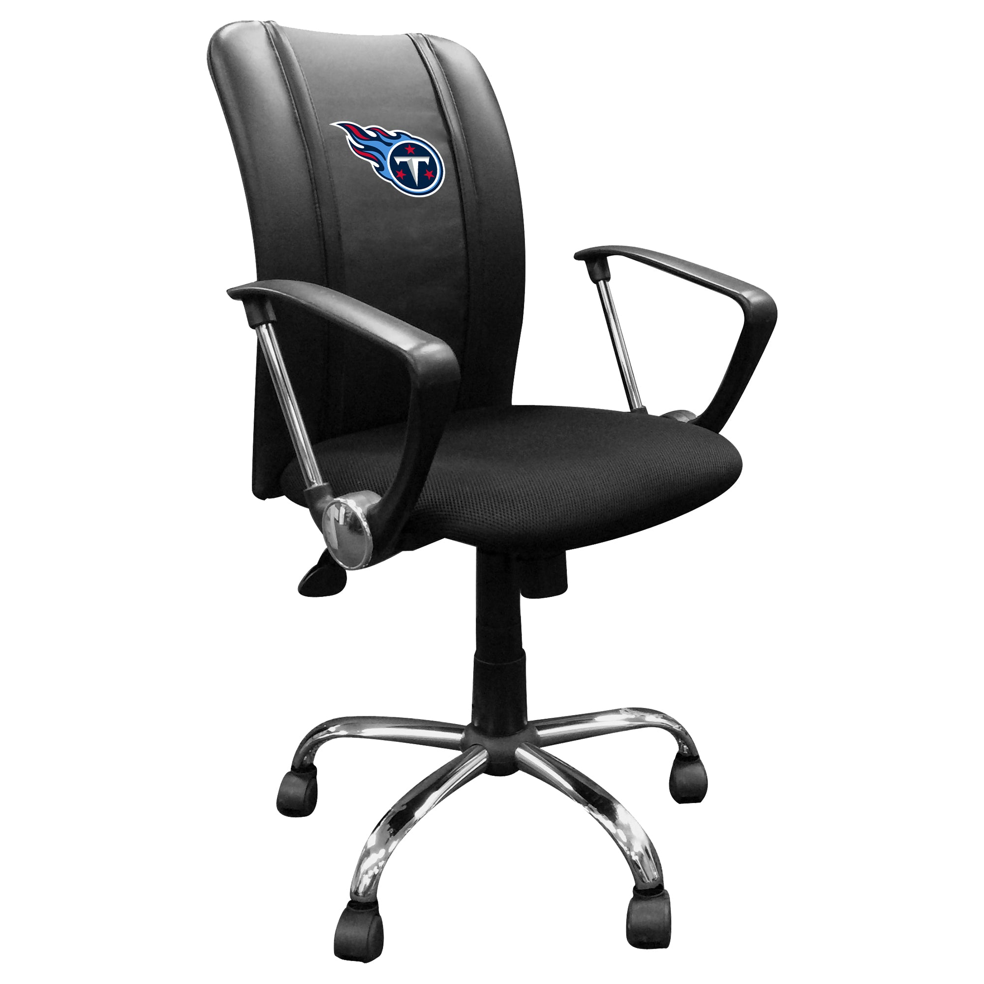 Curve Task Chair with  Tennessee Titans Primary Logo