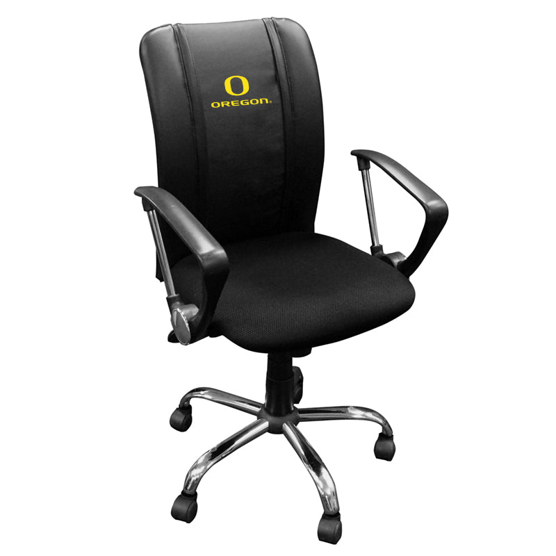 Curve Task Chair with Oregon Ducks Logo