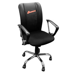 Curve Task Chair with Oregon State Primary Logo