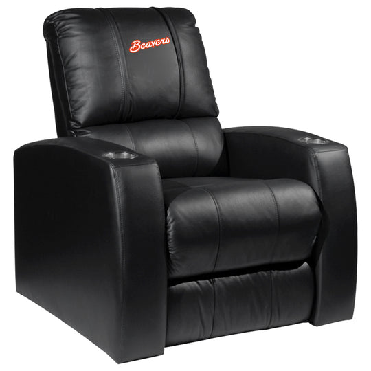 Relax Recliner with Oregon State Primary Logo