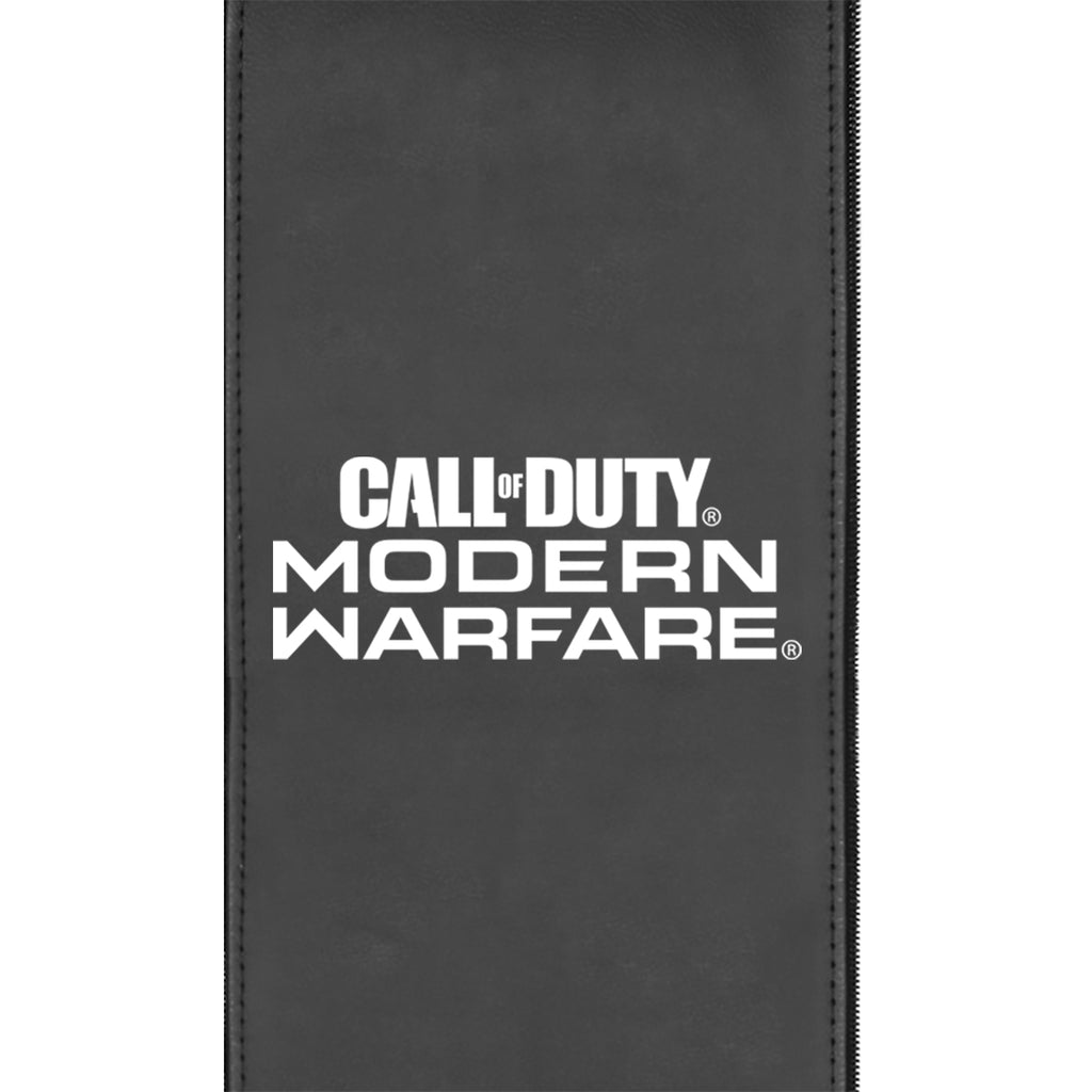 Silver Sofa With Call Of Duty Modern Warfare Stacked Logo Zipchair