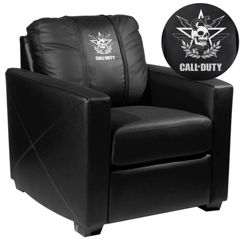Silver Club Chair with Call of Duty® East Top Level Faction Logo