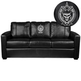Silver Sofa with Call of Duty® Spetsnaz Logo