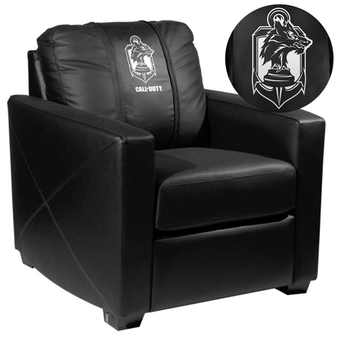 Silver Club Chair with Call of Duty® Demon Dogs Logo