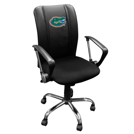 Curve Task Chair with Florida Gators Primary Logo Panel