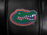 Silver Sofa with Florida Gators Primary Logo Panel