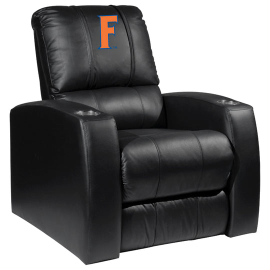 Relax Recliner with Florida Gators Letter F Logo Panel