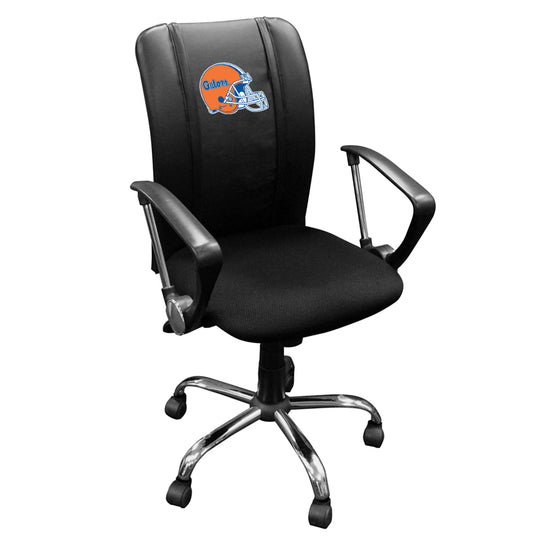 Curve Task Chair with Florida Gators Helmet Logo Panel