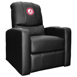 Stealth Recliner with Alabama Crimson Tide Logo