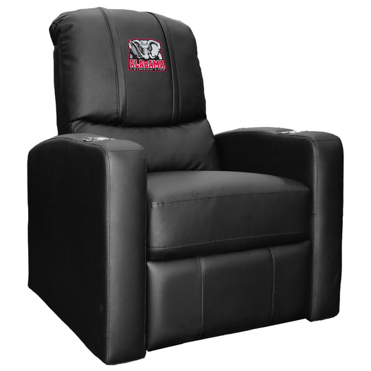 Stealth Recliner with Alabama Crimson Tide Elephant Logo