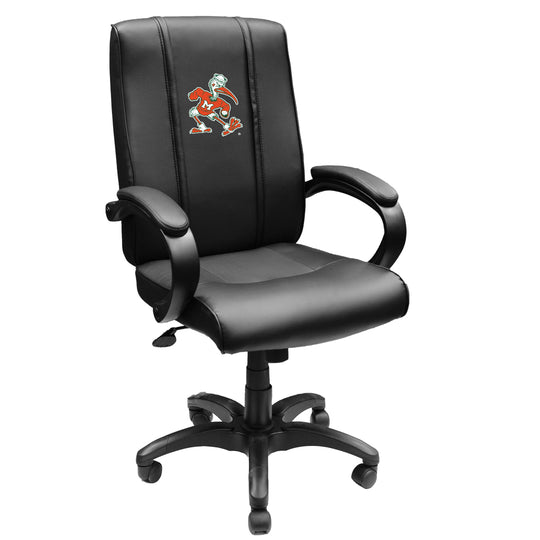 Office Chair 1000 with Miami Hurricanes Secondary Logo