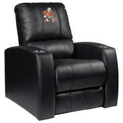 Relax Recliner with Miami Hurricanes Secondary Logo