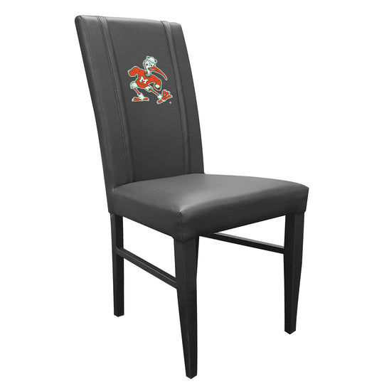 Side Chair 2000 with Miami Hurricanes Secondary Logo
