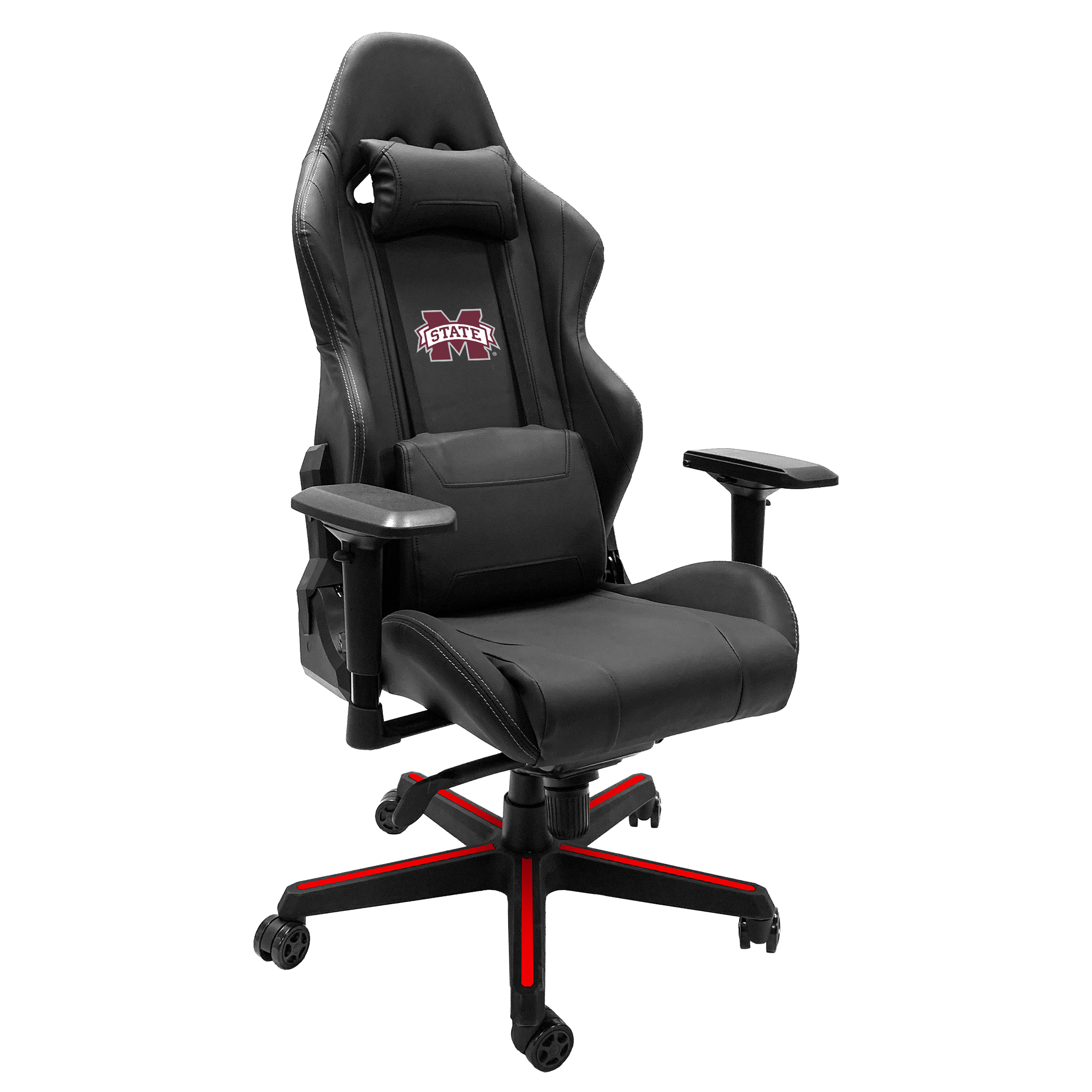 Xpression Gaming Chair with Mississippi State Primary