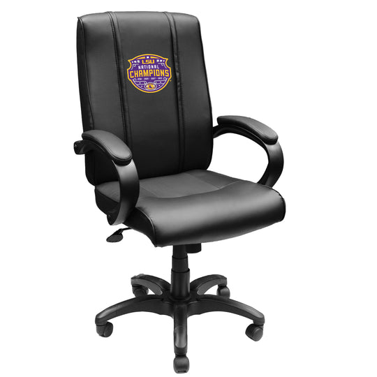 Office Chair 1000 with LSU Tigers National Champions Logo