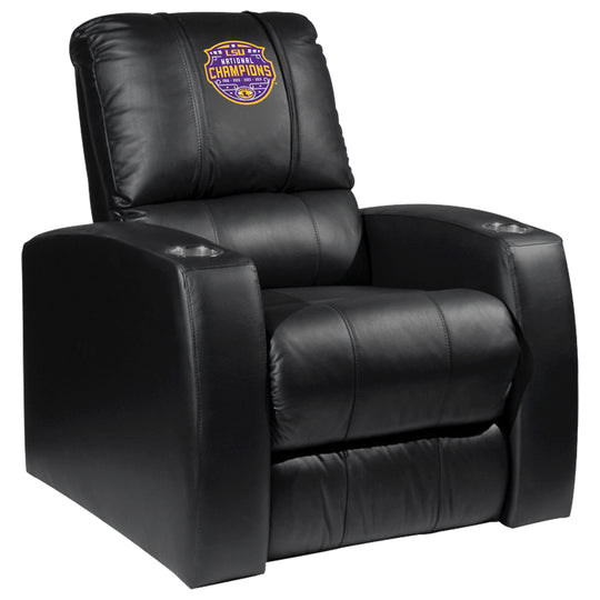 Relax Recliner with LSU Tigers National Champions Logo