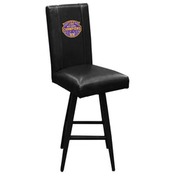Swivel Bar Stool 2000 with LSU Tigers National Champions Logo
