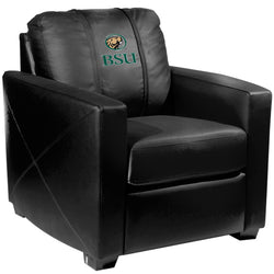 Silver Club Chair with Bemidji State Beavers Logo